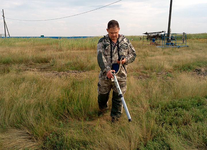 Обследование земельных участков на радиацию
