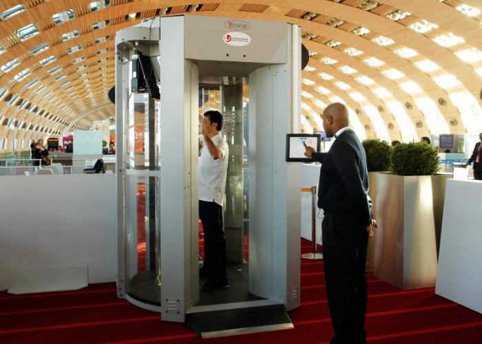 Радиационный сканер в аэропорту