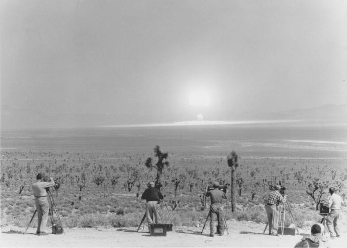 Ядерный полигон в Неваде